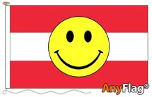 - AUSTRIA SMILEY FACE ANYFLAG RANGE - VARIOUS SIZES